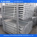 Система лесов строительного материала стальная