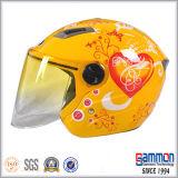 낙서 스쿠터 또는 모터바이크 또는 기관자전차 숙녀 (OP203가)를 위한 열리는 마스크 헬멧
