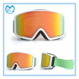 Vidrios generales de la snowboard de las mercancías Sporting de la niebla anti permutable de la lente