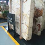 El mejor azulejo blanco de la losa del mármol de Onyx con buena calidad