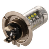 Günstigere Preise H7 80W Auto-LED-Nebel-Birnen Hellweiß