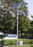 30W LED Solarstraßenlaternemit 5m Pole für Beleuchtung
