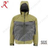 고품질 (QF-9057)를 가진 재킷을 도섭하는 남자의 어업