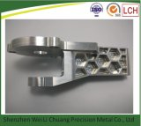 Алюминий подвергли механической обработке CNC, котор разделяет CNC филируя запасные части