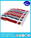 Baumwollbadetuch-Bad-Tuch-Garn gefärbtes gedrucktes Badetuch 100%