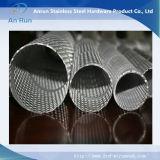 Tube perforé bon marché en métal d'approvisionnement d'usine