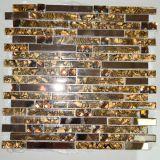 Buena venta de cristal de mosaico de cristal de mosaico de espejo de oro