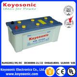 El estruendo 12V estándar 155ah del buen funcionamiento seca las baterías de coche cargadas para el carro