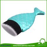Cepillo barato del maquillaje de los pescados del cepillo del maquillaje del sostenedor del soporte