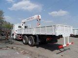 最上質のHOWO 6X4 20tonのトラックによって取付けられるクレーン