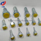 Couplage hydraulique multi femelle de ajustement d'émerillon de Bsp d'embout de durites de Bsp d'ajustage de précision de tube de joint de 22111 Bsp