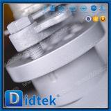 Il blocchetto del doppio di Didtek & l'estremità di scarico di Rtj delle sedi di Peek hanno forgiato la valvola a sfera