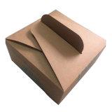 주문 입히는 Kraft 종이 강선 케이크 포장 기관자전차 납품 선물 음식 상자