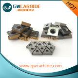 CVD PVDのコーティングの炭化物のIndexable回転製粉の挿入およびシム