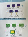 Характеры и графики модуля индикации LCD Cog FSTN