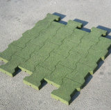 Interlock / Square Type e Dog Bone Rubber Tile