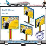 Alta calidad Publicidad retroiluminada Billboard Display
