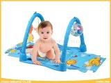 Baby-Teppich 2 in 1 Spiel-Matte mit Musik für Babys