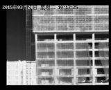 appareil-photo extérieur de formation d'images thermiques de la défense PTZ de cadre de 16km