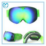 Vidros dos esportes do esqui Anti-Fog personalizado adulto do OEM & do ODM