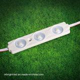 SMD 2835 Retroiluminación impermeable a corriente constante actual 3 LED módulo con lente