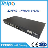 Factory Direct Chine Support Dual-Homing FXO Asterisk VoIP Gateway 32 128