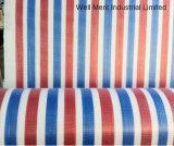 Tissu imperméable à l'eau de roulis de PE de couleur de piste
