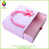 Alta calidad caja de embalaje de regalo Pouched con cajón