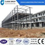 Bella costruzione prefabbricata rapida della struttura d'acciaio dell'installazione