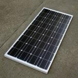 panneau solaire mono de 12V 100W pour le système solaire d'au loin-Grille