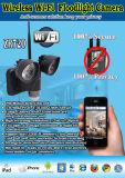 Venda quente com a câmera do CCTV de WiFi DVR do projector do diodo emissor de luz do sensor de movimento