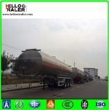Del petrolio del serbatoio semi del rimorchio 45000L del petrolio del combustibile dell'autocisterna rimorchio d'acciaio greggio semi