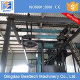 ISO Certification Shot Blasting Machine com Hanging Chain
