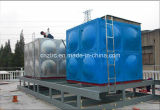 Réservoir d'eau isolé par GRP de fibre de verre de réservoir d'eau de FRP