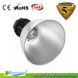 Lumière élevée en aluminium industrielle de compartiment de la lampe 100W DEL de boîtier de l'entrepôt IP65
