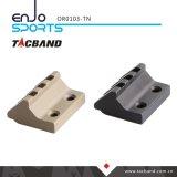 Keymod 45度のオフセットのPicatinnyの柵の懐中電燈かアクセサリの台紙(3 Slot/1.5インチ)タン