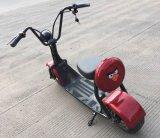 """trotinette"" elétrico do estilo de Harley Scrooser com forma Citycoco das rodas grandes"