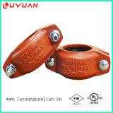 Abrazadera de tubo Grooved mencionada de los productos FM/UL de la protección contra los incendios