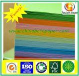 papier vergé de la couleur 60g non-enduite