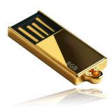 USBのフラッシュ駆動機構の小型防水金属USBの棒のペン駆動機構USBのメモリ・カードのフラッシュディスクUSBの親指のフラッシュカードOEMプリントロゴ