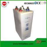 Baterías de almacenaje alcalinas CD del Ni 1.2V 550ah para la UPS y la energía solar