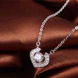 925純銀製のネックレスの吊り下げ式のバレンタインのギフト