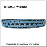 """1 de """" Lichtblauwe Singelband van de Polyester van de Jacquard voor Decoratie"""