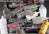 Impresora de cristal de la pantalla de la botella de vino
