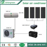 Acondicionador de aire solar de dc el 100% con el sistema eléctrico de reserva