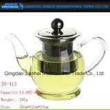 Jogo de chá do frasco de vidro da alta qualidade com punho e tampa