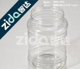 Buntes Haustier-Plastikflasche mit Aluminiumschutzkappen-Kappe