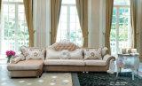 Sofa de tissu de type de l'Europe, sofa classique neuf de tissu (316)