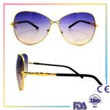 2016 lunettes de soleil de mode polarisées par métal unisexe avec 400 UV