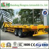 40FT Flatbed Aanhangwagen van de Vrachtwagen van de Verschepende Container Semi voor Verkoop